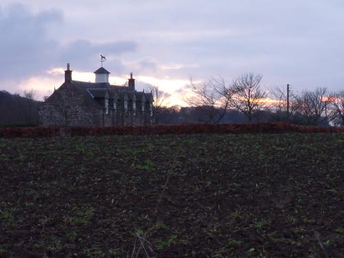 Sunset at Newbigging