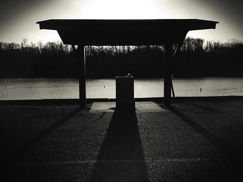 blackandwhite monochrome silhouette landscape iphone