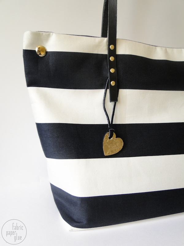 Striped Tote Redux 2