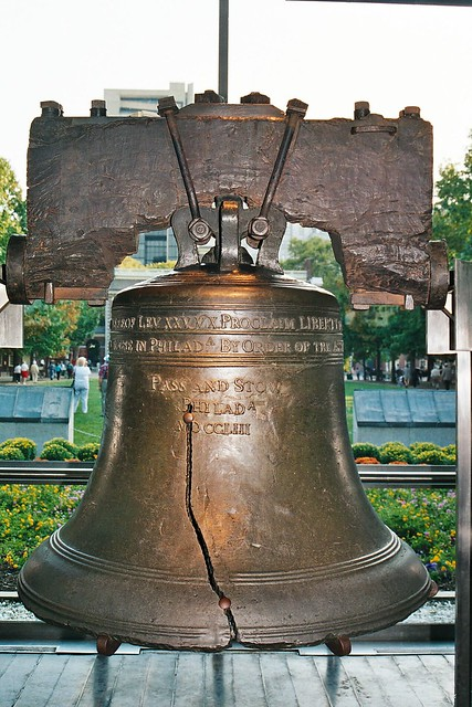 Liberty Bell, flickr user Lee Bennett