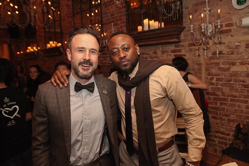 David Arquette and Omar Epps