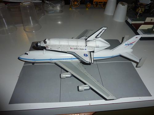 1/200 Hasegawa NASA 747 Space Shuttle Transporter and ...