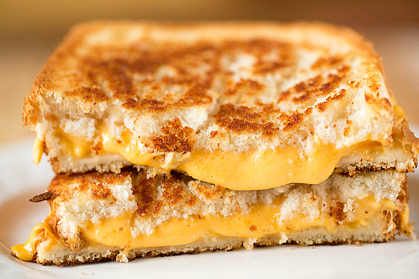 Grilled cheese sandwich made with homemade American cheese! | Flickr ...