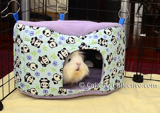 guinea pig fleece house hideaway toys