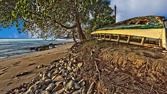 Upturned Boat Heywoods Beach St. Lucy Barbados