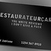 Restaurateur Card by extramsg