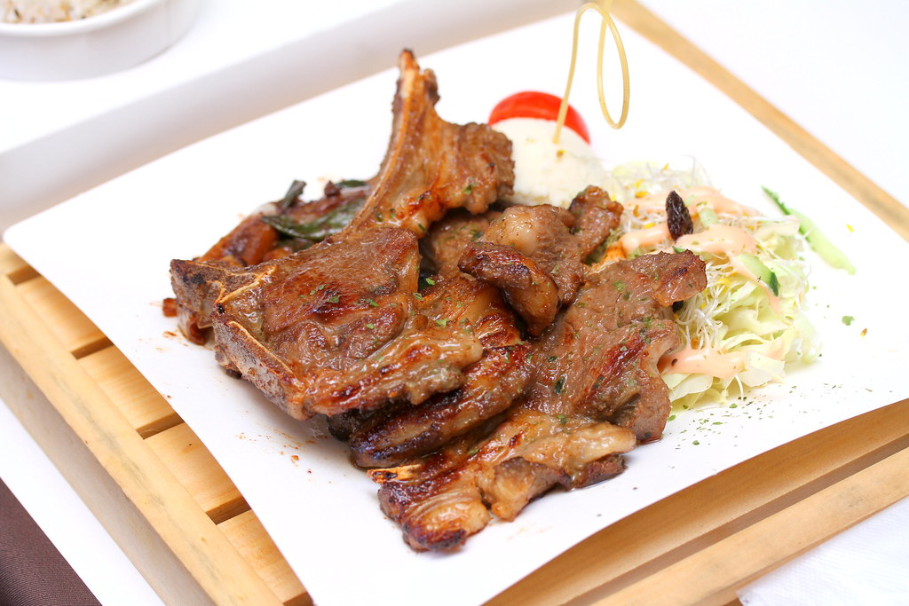 Carton King Creativity Park's Confit Lamb Chop with refreshing Orange Honey Sauce