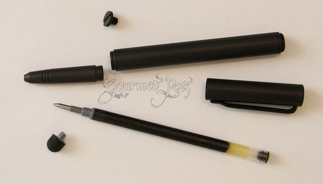 BIGiDESIGN Solid Titanium Pen + Stylus Taken Apart