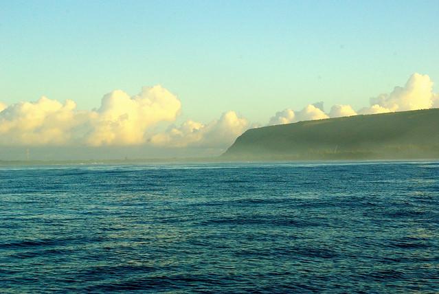 napali coast on kauai