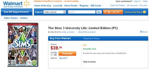Pre Order University Life @ Walmart & Target | SimsVIP