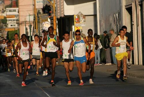 Carrera de los Barrios 21K Leon Guanajuato