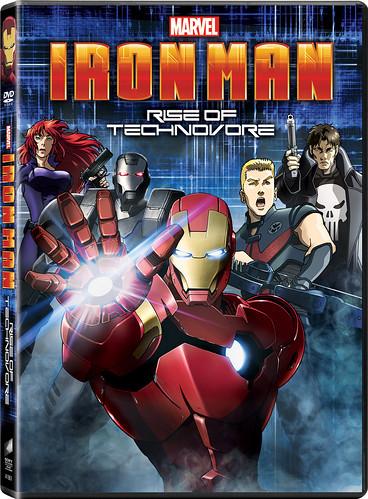 130204(3) - 美日合作動畫《鋼鐵人:噬甲病毒崛起》將在4/16首賣!附贈「小勞勃·道尼」超級盃加長版LOOK(笑)