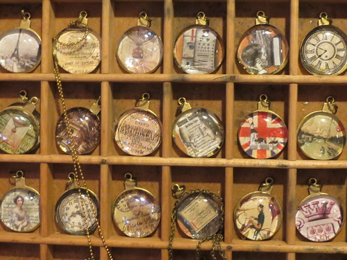 Glass Vintage Pendants