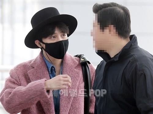 Big Bang - Incheon Airport - 21mar2015 - G-Dragon - Herald Corp - 06