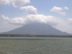 Вулкан - вид с коробля