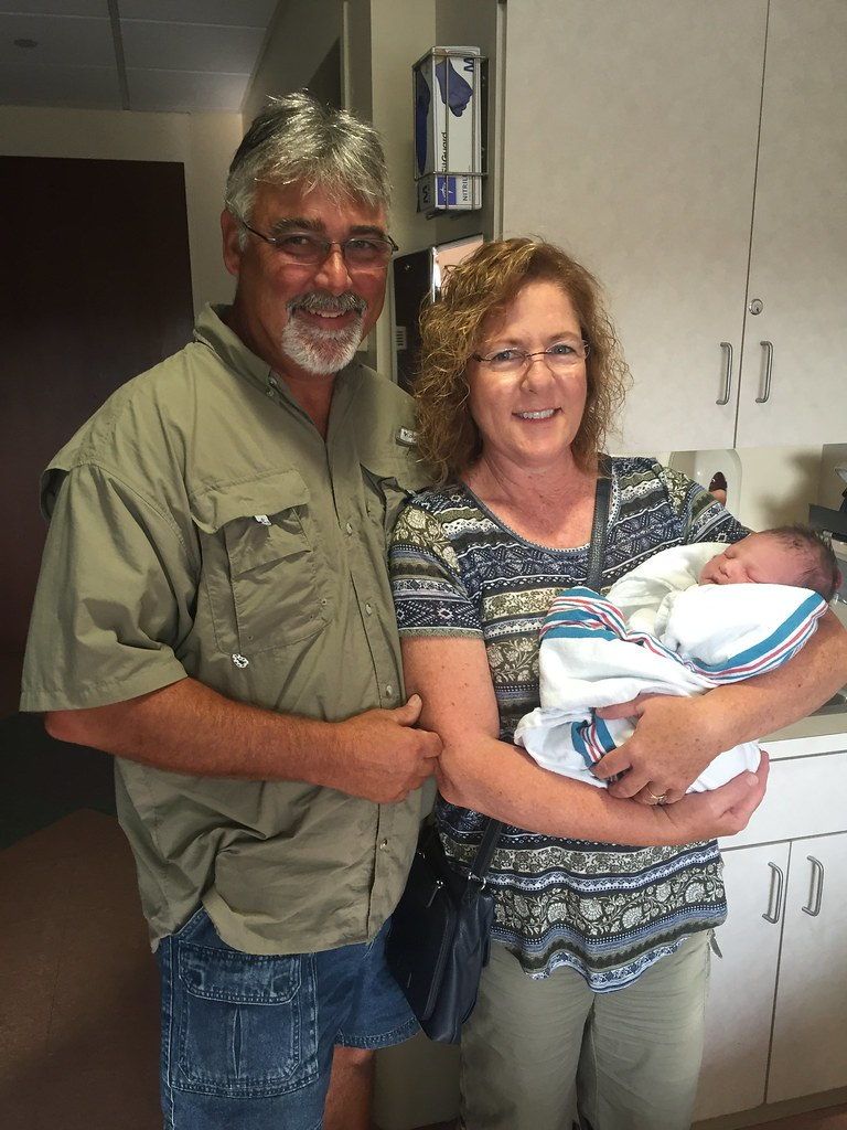 Bill and Maureen Towns welcome grandson, Hudson William Towns!