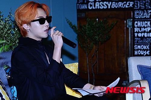 G-Dragon - Airbnb x G-Dragon - 20aug2015 - Newsis - 11