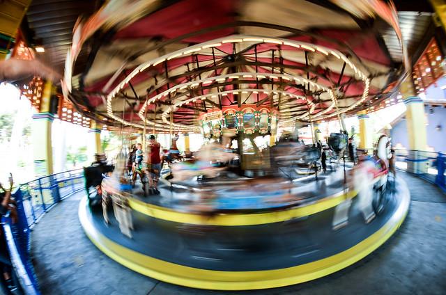 Knotts Carousel