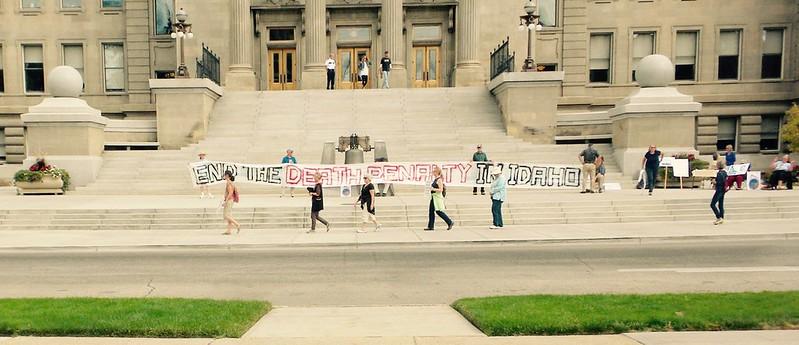Boise,ID CNV 2016 Silent Walk Opposing the Death penalty