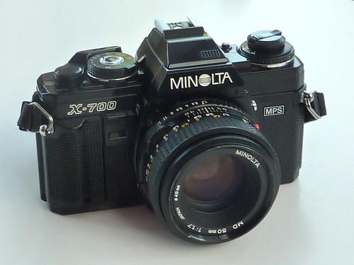 Minolta X-700 by pho-Tony