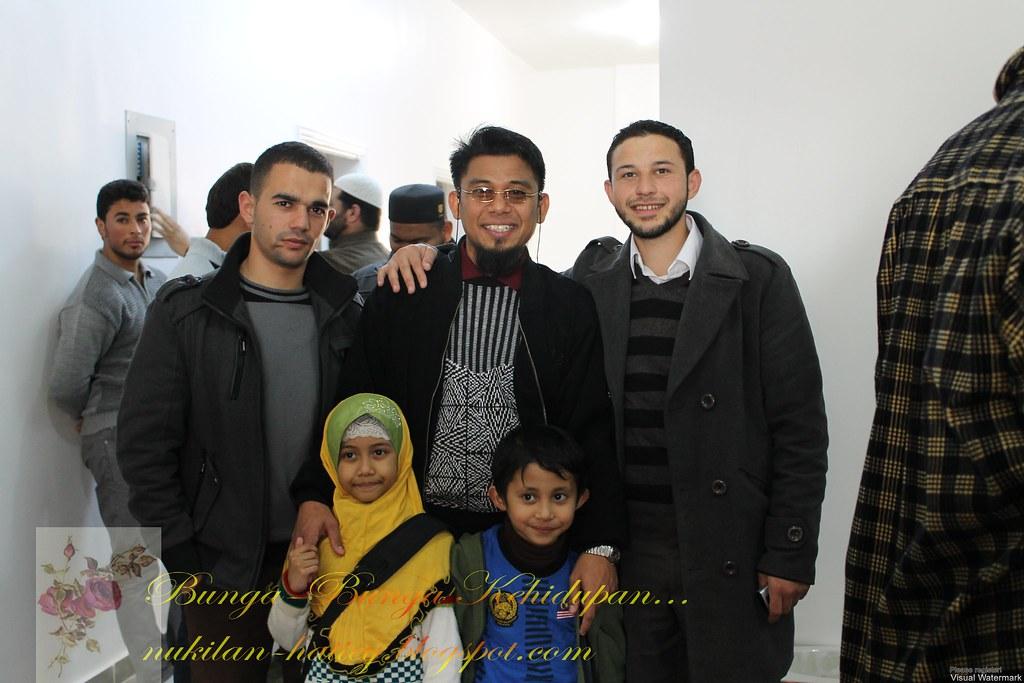 Abi dan pemuda2 yang menjadi tenaga pengajar di markaz Quran ini.