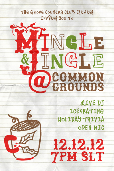 Mingle & Jingle Time!