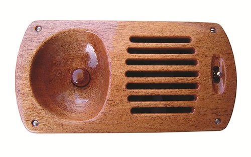 Wooden electric vent