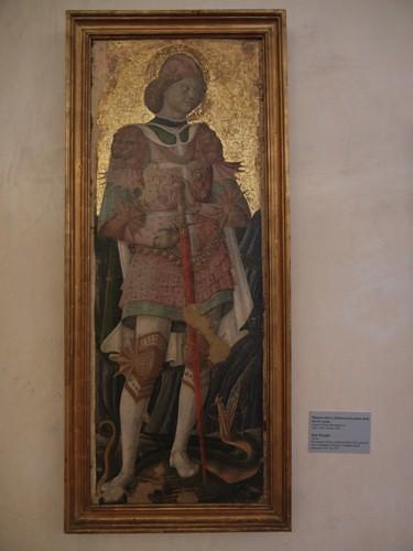 DSCN3774 _ San Giorgio, Maestro attivo a Ferrara nella prima metà del XV secolo, Pinacoteca Nazionale di Ferrara