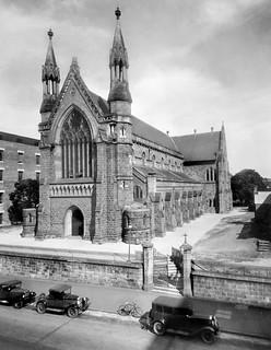 St Stephens Cathedral, Elizabeth Street, Brisbane, December 1930