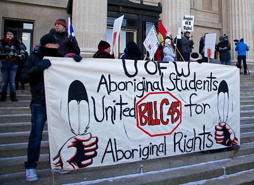 U of W Aboriginal Students United for Aboriginal Rights