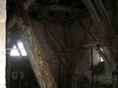 Dreuil-Hamel (église) base du clocher en charpente - Photo of Fontaine-le-Sec