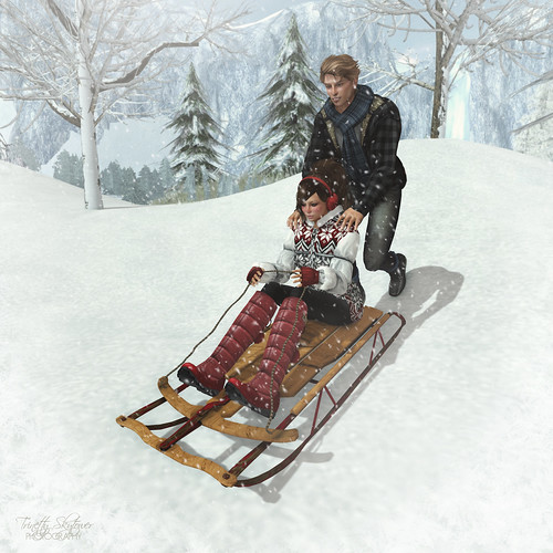 oOo Studio: Sledding Two