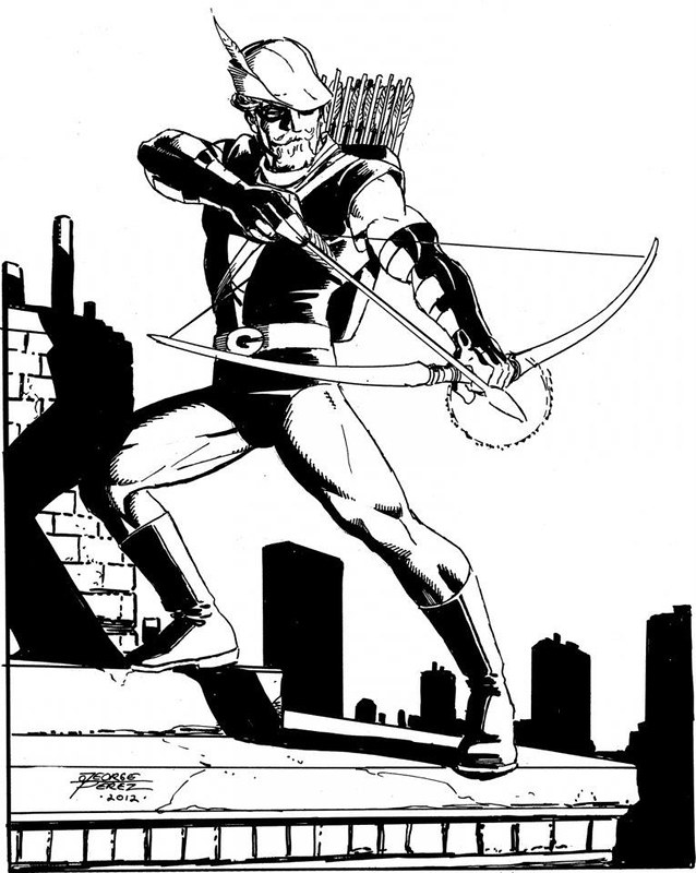Green Arrow by George Perez