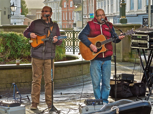 Playing Today at Horsham Christmas Market ....(351/366) by Irene.B.