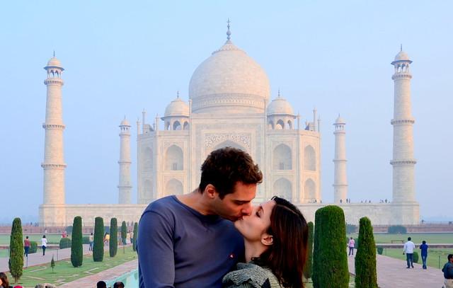 Taj Mahal, lugares para ir con tu pareja