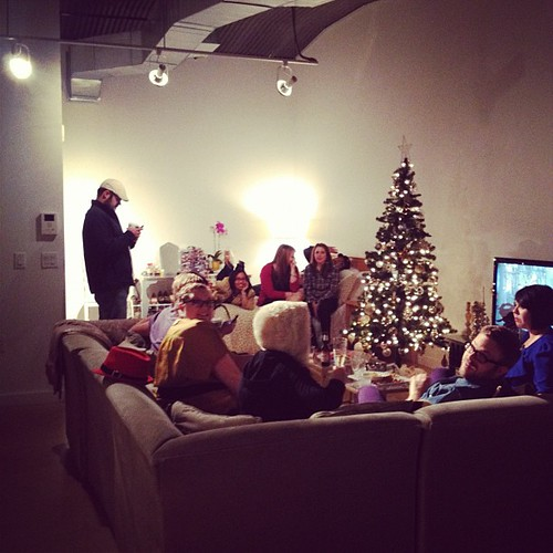 Winding down from a fun evening. #hipsterholiday