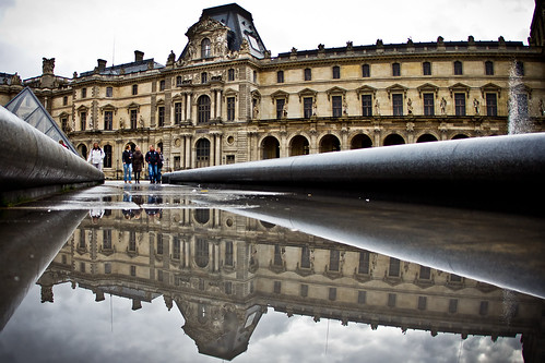 Reflecting On The Louvre