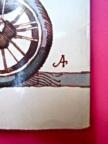 John Alcorn / Pearl S. Buck, Tutti sotto il cielo, Rizzoli 1974. Prima di sovracoperta (part.), 1