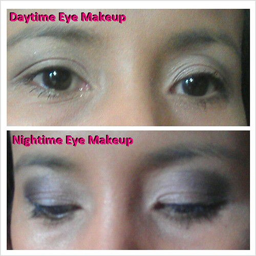 eye makeup day and night