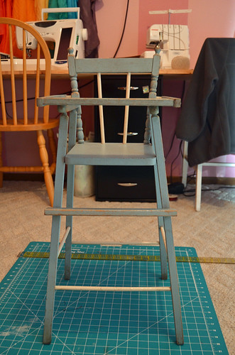 Dolly High Chair - Before