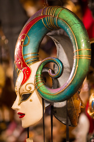 Twi'lek (Harlequin Carnival Mask), Venice by flatworldsedge