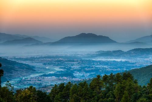 nepal mountain sunrise himalayas himalayastrekking sunriseinthehimalayas