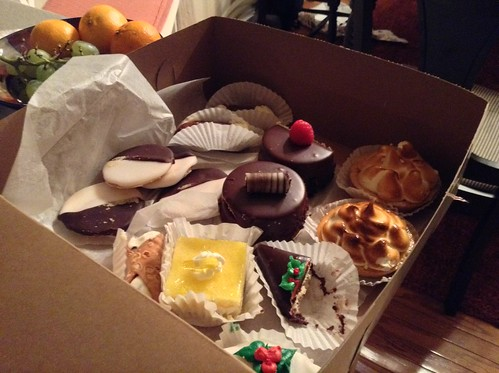 Calendro's pastries.