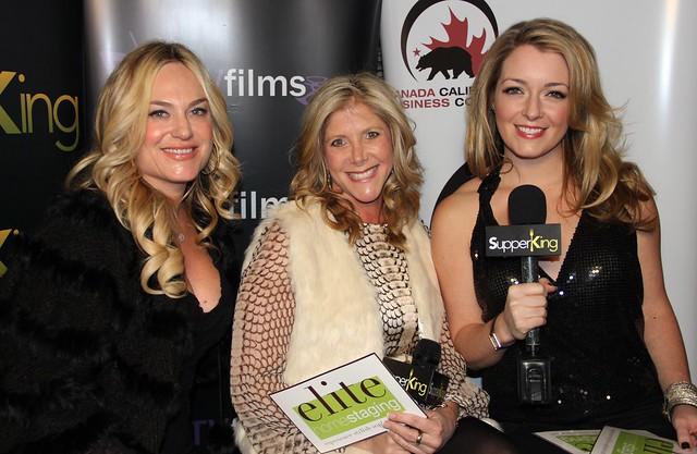 Samantha Senia, Hillary Federman, Tara Hunnewell, Elite Home Staging, RealTVfilms Social Lodge