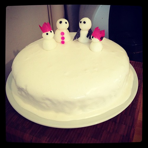 Achievement unlocked: respectable looking Christmas cake :)