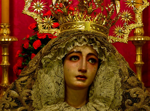 Madonna with tears, Sevilla