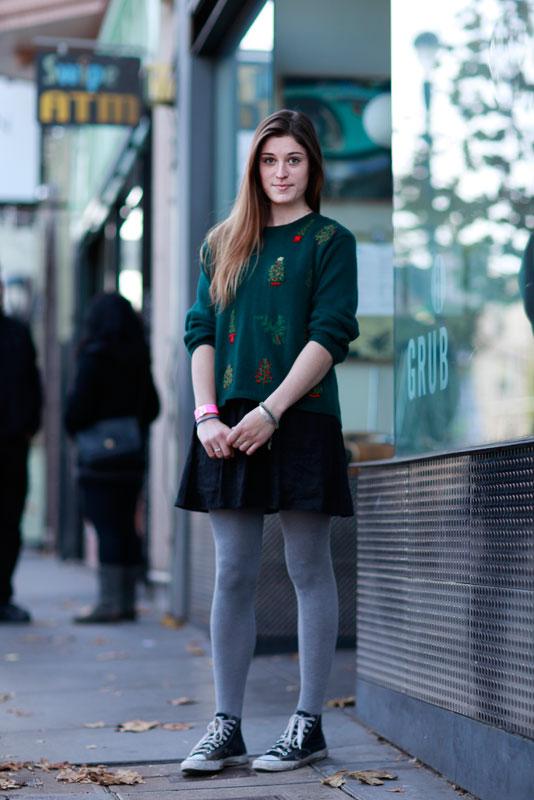 sophie_xmas street style, street fashion, San Francisco, women, Valencia Street