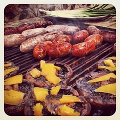 meal, sausage, roasting, grilling, italian sausage, churrasco food, produce, food, dish, cuisine, venison, kielbasa, cooking, bratwurst,