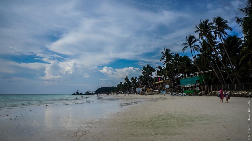 Пляж острова Боракай