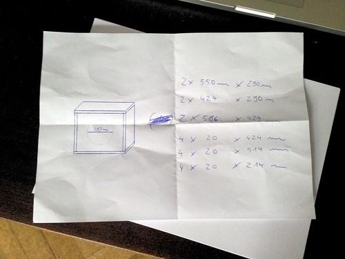 Scribbled Plan